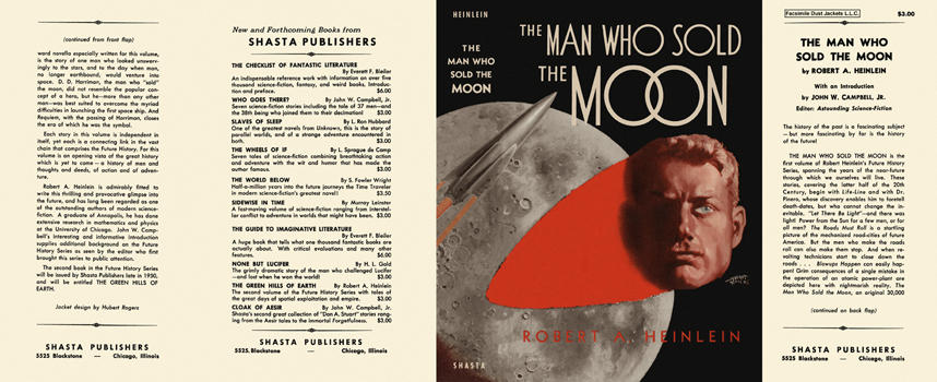Man Who Sold the Moon, The. Robert A. Heinlein.