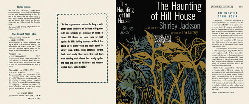 Haunting of Hill House, The. Shirley Jackson