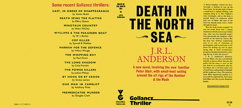 Death in the North Sea. J. R. L. Anderson.