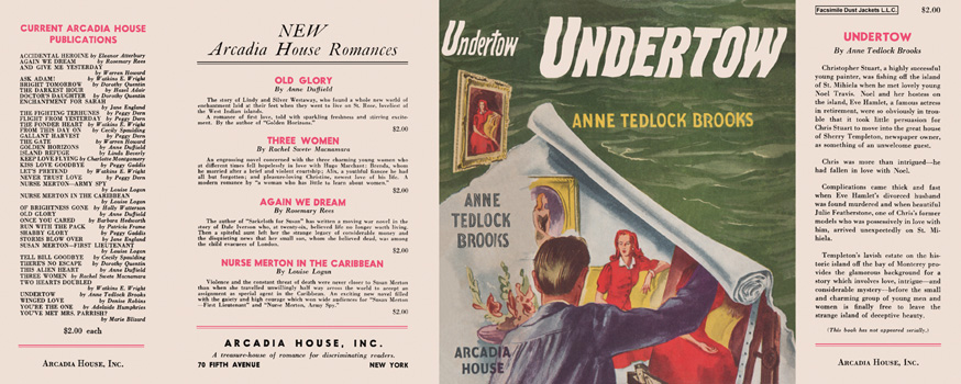 Undertow. Anne Tedlock Brooks