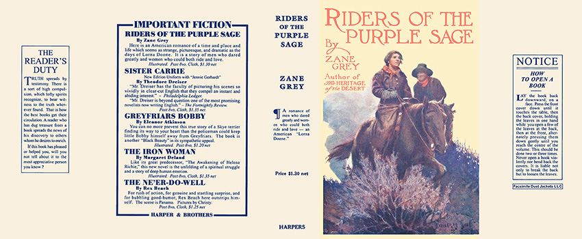 Riders of the Purple Sage. Zane Grey