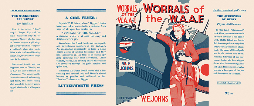 Worrals of the W. A. A. F. Captain W. E. Johns.