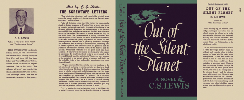 Out of the Silent Planet. C. S. Lewis.