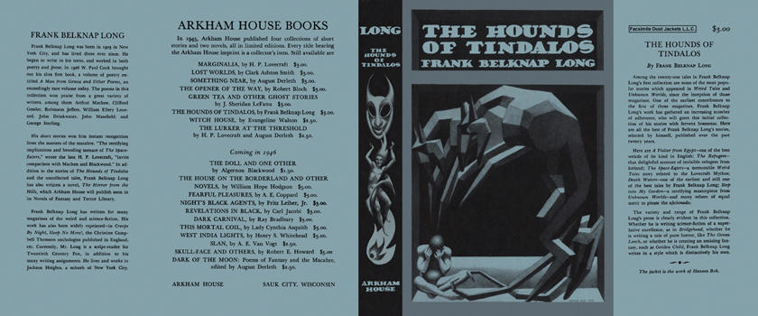Hounds of Tindalos, The. Frank Belknap Long