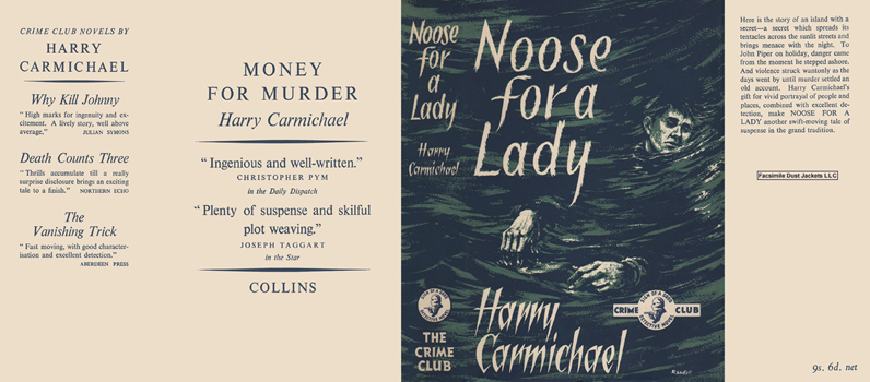 Noose for a Lady. Harry Carmichael