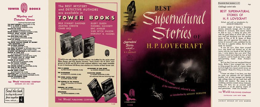Best Supernatural Stories of H. P. Lovecraft. H. P. Lovecraft