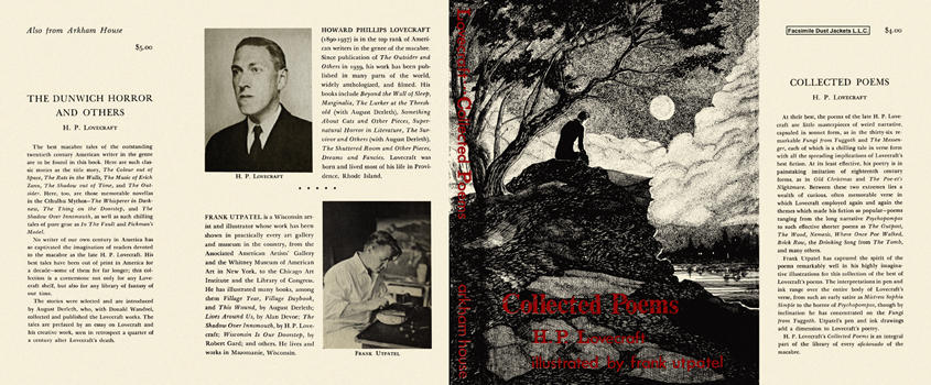 Collected Poems. H. P. Lovecraft.
