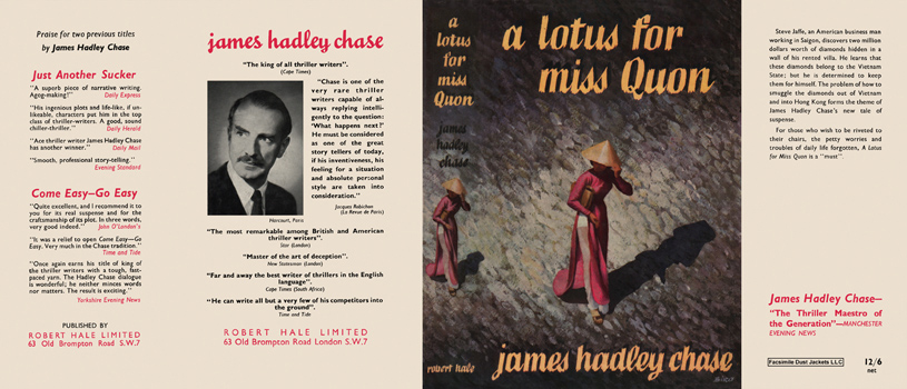 Lotus for Miss Quon, A. James Hadley Chase.