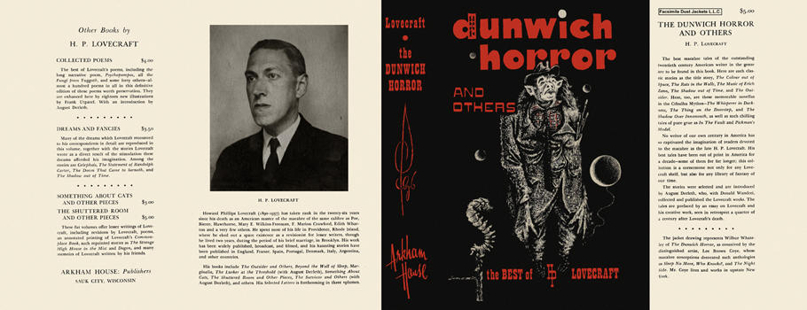 Dunwich Horror and Others, The. H. P. Lovecraft
