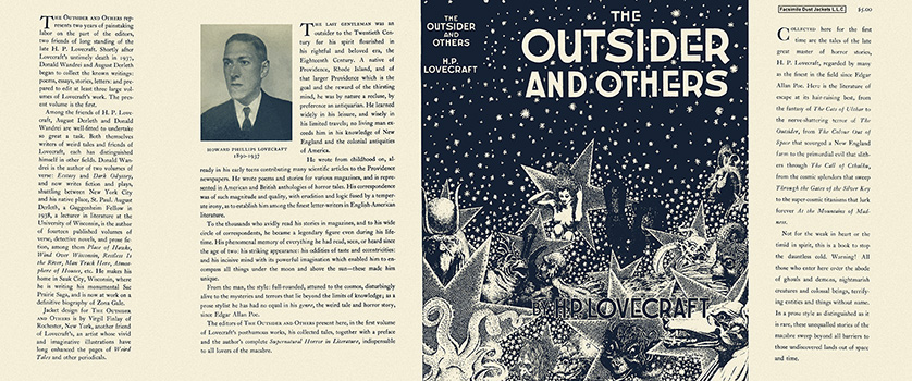Outsider and Others, The. H. P. Lovecraft