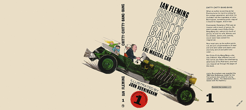 Chitty Chitty Bang Bang, The Magical Car Adventure 1. Ian Fleming.