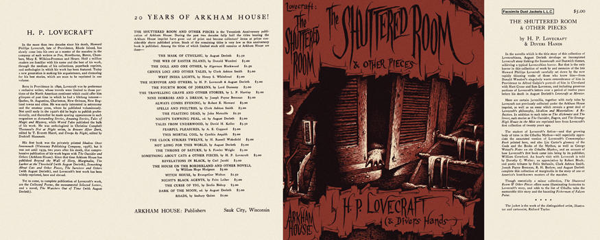Shuttered Room and Other Pieces, The. H. P. Lovecraft