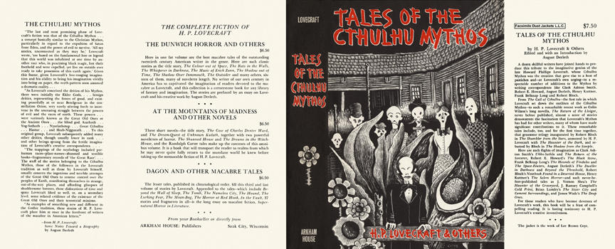 Tales of the Cthulhu Mythos. H. P. Lovecraft