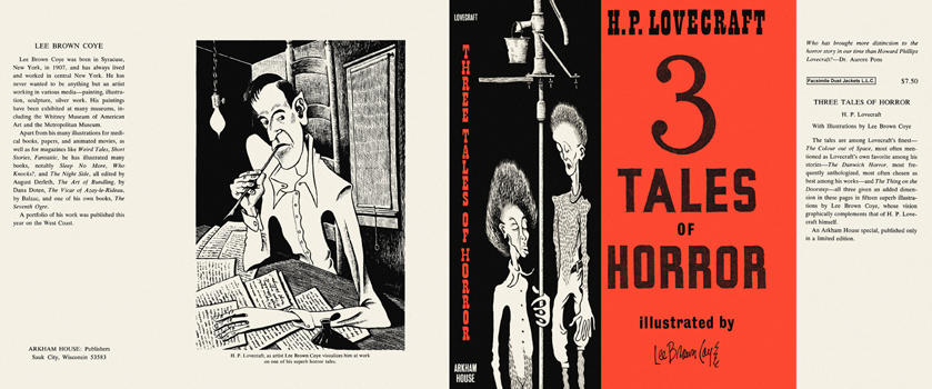 Three Tales of Horror. H. P. Lovecraft.