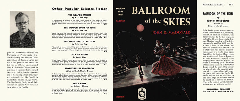 Ballroom of the Skies. John D. MacDonald.
