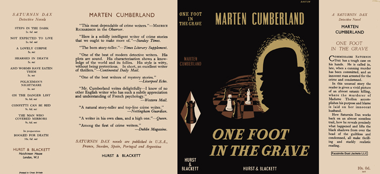 One Foot in the Grave. Marten Cumberland
