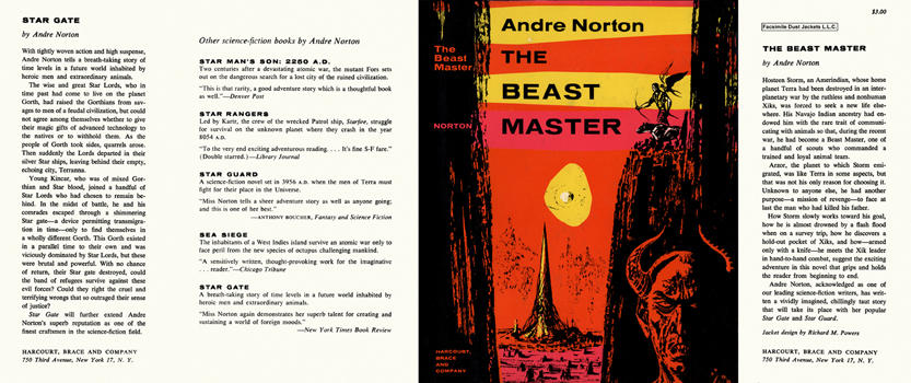 Beast Master, The. Andre Norton.