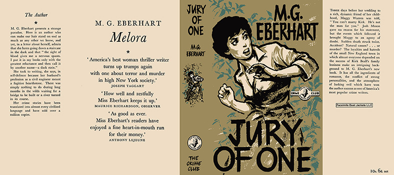 Jury of One. Mignon G. Eberhart