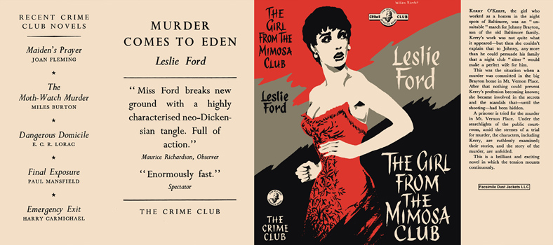 Girl from the Mimosa Club, The. Leslie Ford