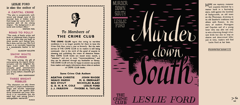 Murder Down South. Leslie Ford