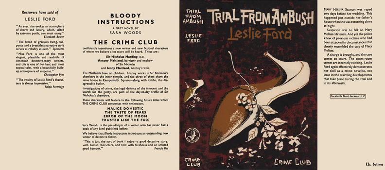 Trial from Ambush. Leslie Ford