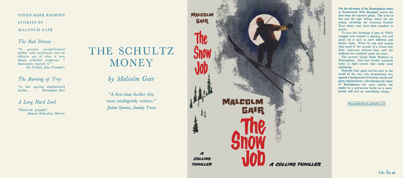 Snow Job, The. Malcolm Gair