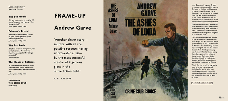 Ashes of Loda, The. Andrew Garve