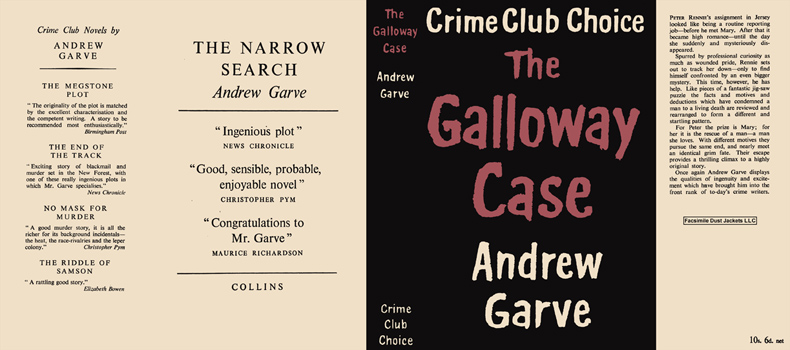 Galloway Case, The. Andrew Garve