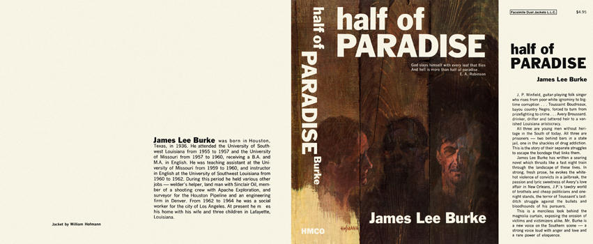Half of Paradise. James Lee Burke.