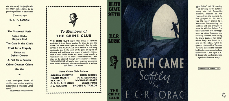 Death Came Softly. E. C. R. Lorac.