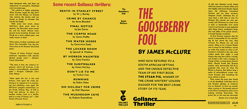 Gooseberry Fool, The. James McClure