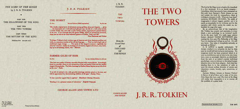 Two Towers, The. J. R. R. Tolkien.
