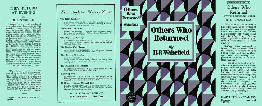 Others Who Returned. H. R. Wakefield.
