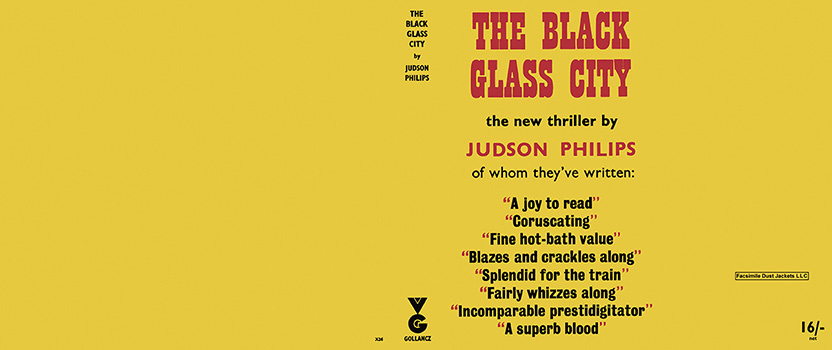 Black Glass City, The. Judson Philips.