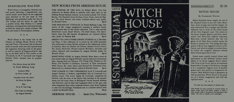 Witch House. Evangeline Walton.