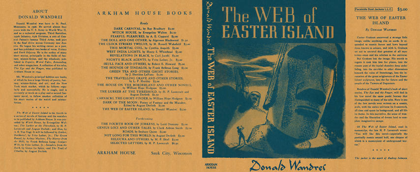 Web of Easter Island, The. Donald Wandrei