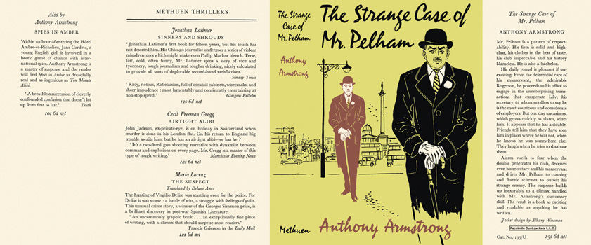Strange Case of Mr. Pelham, The. Anthony Armstrong