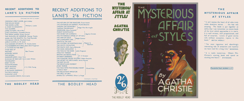 Mysterious Affair at Styles, The. Agatha Christie
