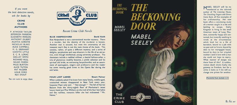 Beckoning Door, The. Mabel Seeley