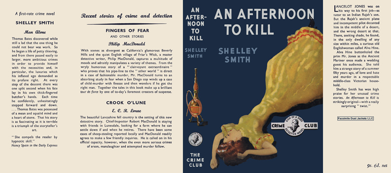 Afternoon to Kill, An. Shelley Smith.