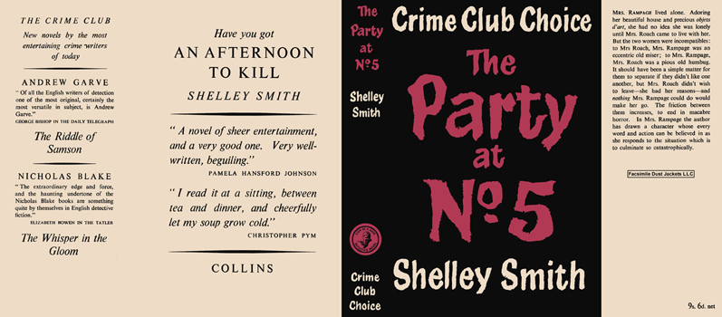 Party at No. 5, The. Shelley Smith.