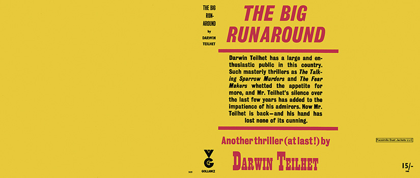 Big Runaround, The. Darwin L. Teilhet.
