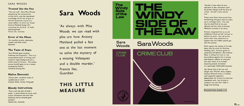 Windy Side of the Law, The. Sara Woods.