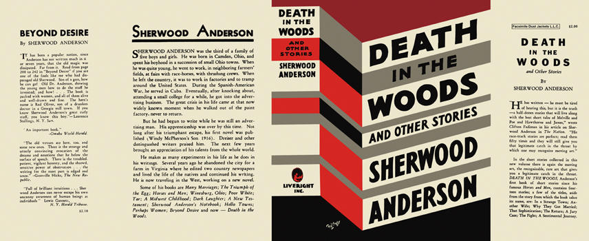 Death in the Woods and Other Stories. Sherwood Anderson