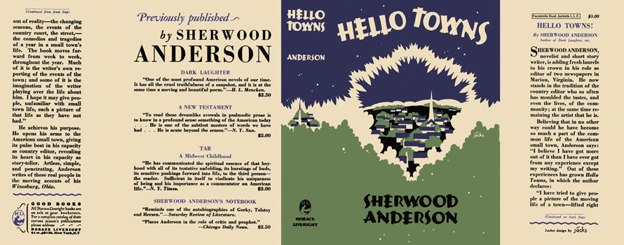 Hello Towns. Sherwood Anderson