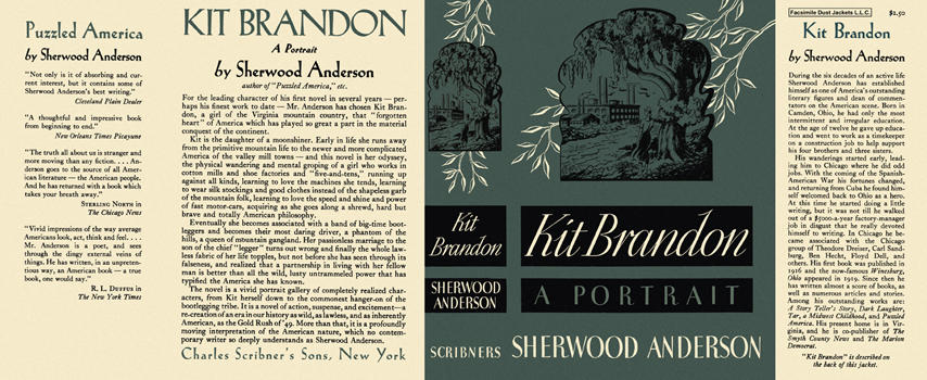 Kit Brandon. Sherwood Anderson