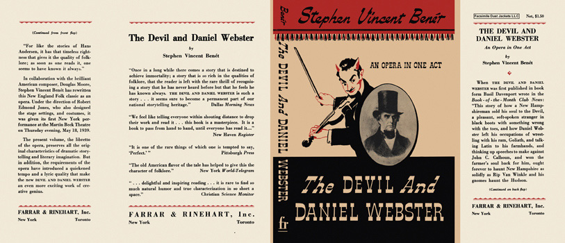 Devil and Daniel Webster, The. Stephen Vincent Benet.