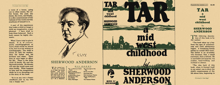 Tar, A Mid West Childhood. Sherwood Anderson