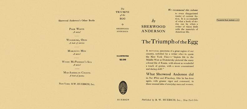 Triumph of the Egg, The. Sherwood Anderson