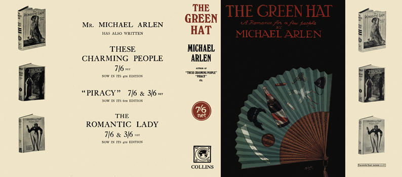 Green Hat, The. Michael Arlen